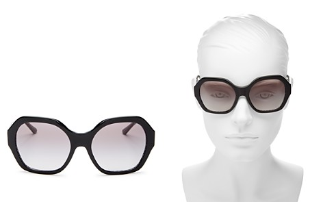 Tory Burch Women's Round Sunglasses, 56mm - Bloomingdale's_2