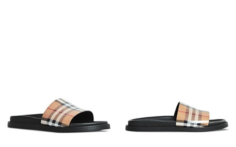 Women's Ashmore Vintage Check Slide Sandals - Bloomingdale's_2