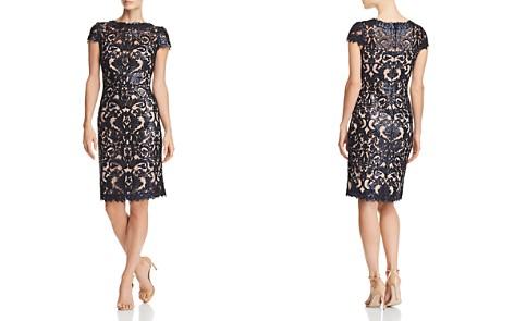 Tadashi Shoji Petites Sequined Damask Dress - Bloomingdale's_2