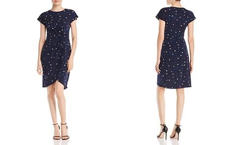 Leota Mimi Star-Print Twist-Front Dress - Bloomingdale's_2