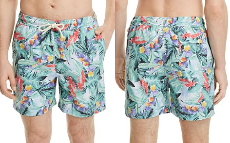 Brooks Brothers Montauk Tropical Swim Trunks - Bloomingdale's_2