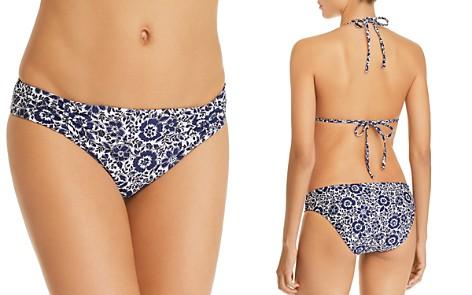 Splendid Check Please Reversible Retro Bikini Bottom - Bloomingdale's_2