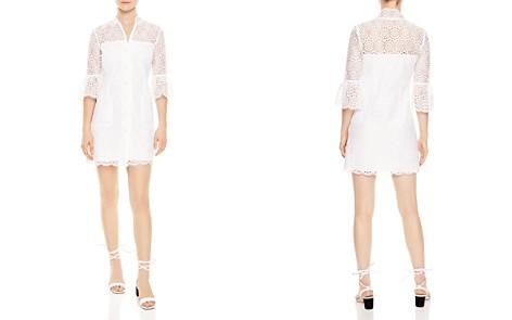 Sandro Miranda Lace Shirt Dress - Bloomingdale's_2