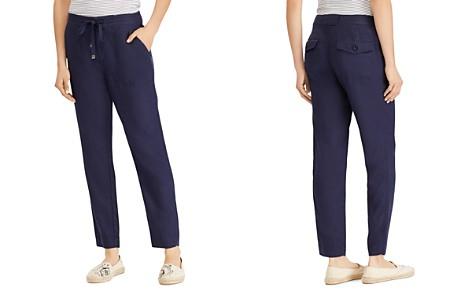 Lauren Ralph Lauren Linen Drawstring Pants - Bloomingdale's_2
