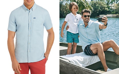 Lacoste Regular Fit Button-Down Shirt - Bloomingdale's_2
