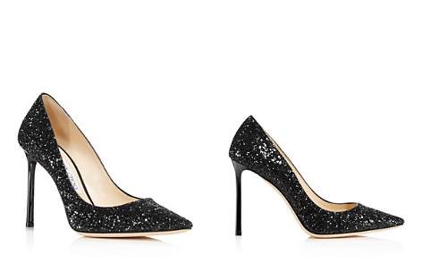 Jimmy Choo Women's Romy 100 Glitter Leather High-Heel Pumps - Bloomingdale's_2