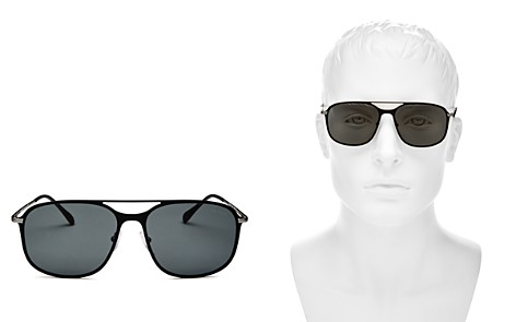 Prada Men's Linea Rossa Evolution Brow Bar Square Sunglasses, 59mm - Bloomingdale's_2