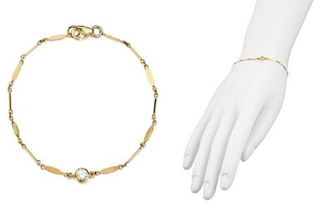 Argento Vivo Cubic Zirconia Bezel Bracelet - Bloomingdale's_2