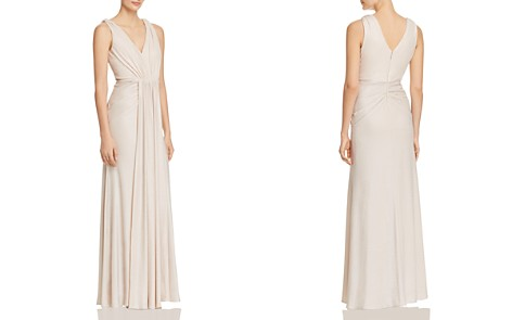 Adrianna Papell Textured Goddess Gown - 100% Exclusive - Bloomingdale's_2