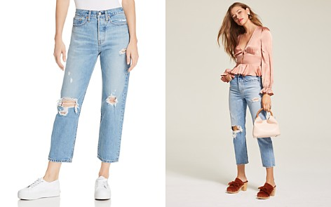 Levi's Wedgie Straight Jeans in Authentically Yours - Bloomingdale's_2