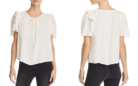 FRAME Ruffle-Sleeve Top - Bloomingdale's_2