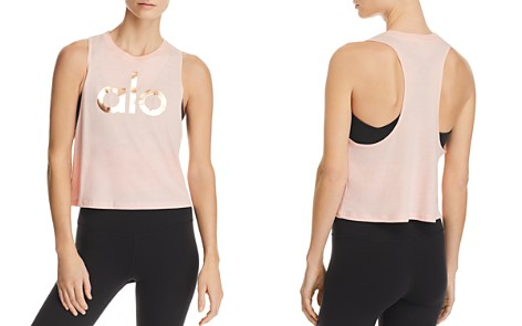Alo Yoga Flow Cropped Tank - Bloomingdale's_2