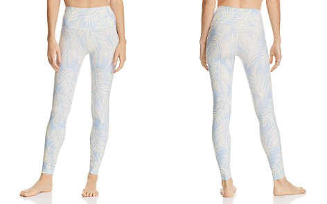 Spiritual Gangster High Vibe Palm Print Leggings - Bloomingdale's_2