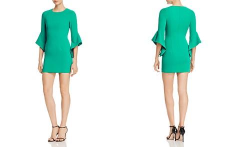 Black Halo Lorie Bell-Sleeve Mini Dress - Bloomingdale's_2