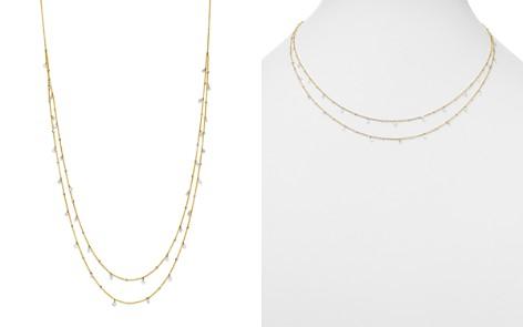 "AeroDiamonds 18K Yellow Gold Amanda Double Layer Diamond Necklace, 18"" - Bloomingdale's_2"