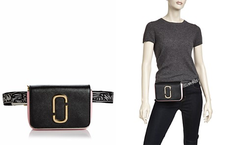 MARC JACOBS Hip Shot Leather Convertible Belt Bag - Bloomingdale's_2
