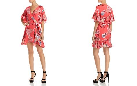BB DAKOTA Kirsten Floral Print Wrap Dress - Bloomingdale's_2
