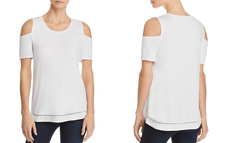 Lyssé Mira Embroidered Cold-Shoulder Top - Bloomingdale's_2