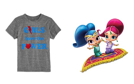 Junk Food x Nickelodeon Girls' Shimmer and Shine © Girls Have the Power Tee, Little Kid - 100% Exclusive - Bloomingdale's_2