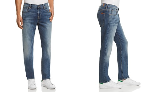 7 For All Mankind Slimmy Slim Fit Jeans in Gaston - Bloomingdale's_2