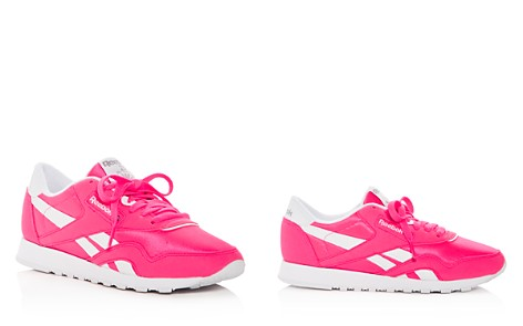 Reebok Women's Classic Nylon Brights Lace Up Sneakers - Bloomingdale's_2