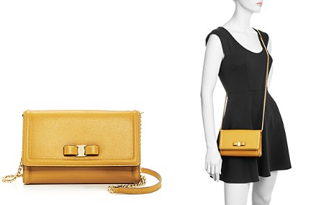 Salvatore Ferragamo Miss Vara Score Leather Mini Bag - Bloomingdale's_2