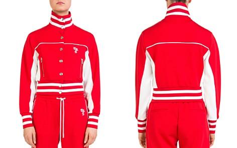 The Kooples Short Sweatshirt Jacket - Bloomingdale's_2