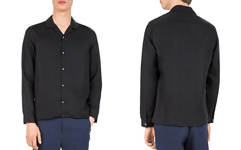 The Kooples Soft Feel Slim Fit Button-Down Shirt - Bloomingdale's_2