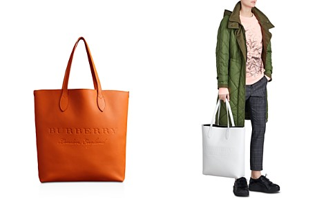 Burberry Remington Embossed Leather Tote - Bloomingdale's_2