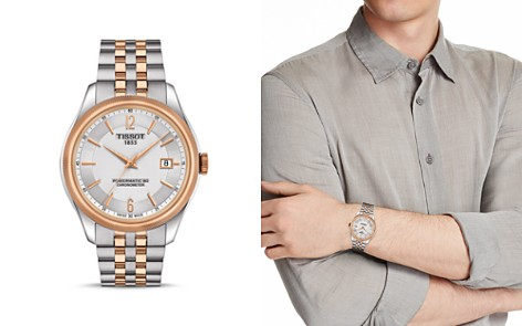 Tissot Ballade Two-Tone Watch, 41mm - Bloomingdale's_2