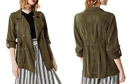 KAREN MILLEN Drawstring Military Jacket - Bloomingdale's_2