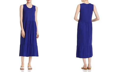 Eileen Fisher Ruffle-Hem Midi Dress - Bloomingdale's_2