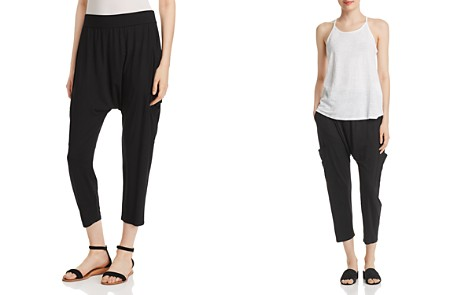 Eileen Fisher Slouchy Cropped Pants - Bloomingdale's_2