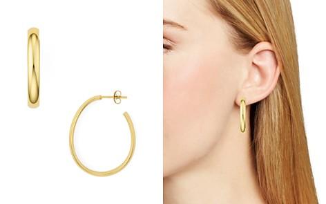 Argento Vivo J Curve Hoop Earrings - Bloomingdale's_2