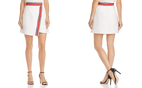 C/MEO Collective Totality Crossover Stripe-Detail Skirt - Bloomingdale's_2