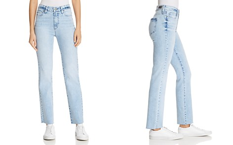 PAIGE Hoxton Ankle Straight Jeans in Pasadena - 100% Exclusive - Bloomingdale's_2