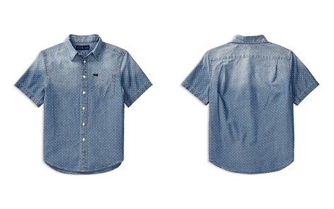 Polo Ralph Lauren Boys' Chambray Short-Sleeve Shirt - Big Kid - Bloomingdale's_2
