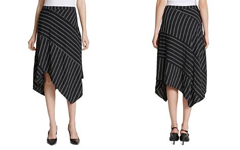 Calvin Klein Pinstriped Midi Skirt - Bloomingdale's_2