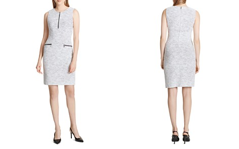 Calvin Klein Jacquard Sheath Dress - Bloomingdale's_2