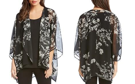 Karen Kane Sheer Floral-Print Kimono - Bloomingdale's_2