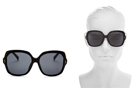 Moschino Women's 014 Oversized Square Sunglasses, 57mm - Bloomingdale's_2