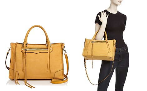 Rebecca Minkoff Regan Nubuck Leather Satchel - Bloomingdale's_2