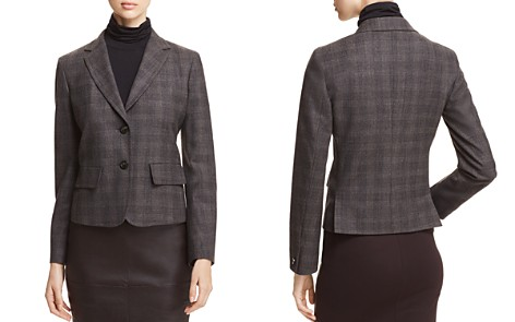 Weekend Max Mara Orano Plaid Blazer - Bloomingdale's_2