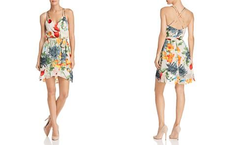 Alice + Olivia Susana Floral Burnout Faux-Wrap Dress - Bloomingdale's_2