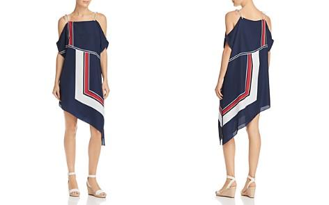 Joie Edyte Color-Blocked Cold-Shoulder Dress - Bloomingdale's_2