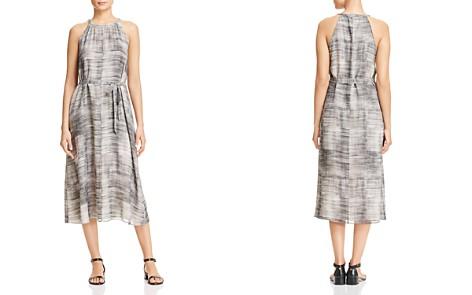 Eileen Fisher Sleeveless Brushstroke-Print Silk Dress - Bloomingdale's_2