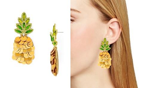 kate spade new york Disc Pineapple Drop Earrings - Bloomingdale's_2