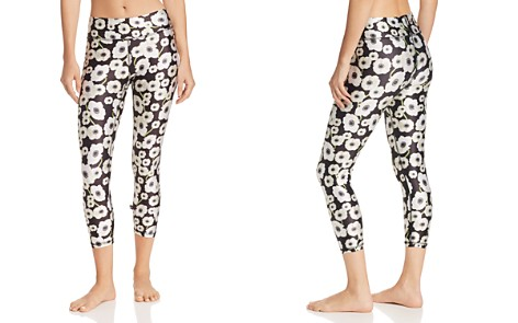 Terez Floral Noir Cropped Leggings - Bloomingdale's_2