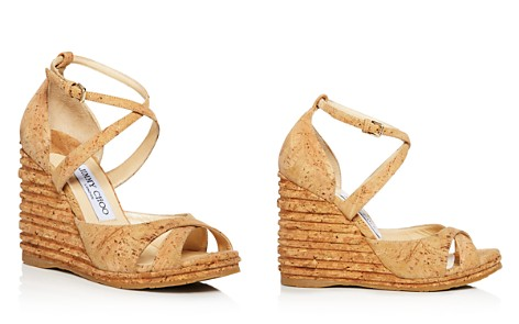 Jimmy Choo Women's Alanah 105 Cork Platform Wedge Sandals - Bloomingdale's_2
