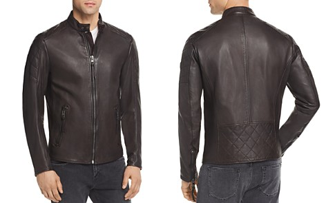BOSS Jeepo Leather Moto Jacket - Bloomingdale's_2
